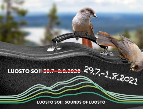 The Sounds of Luosto 2020 will be moved to the summer of 2021